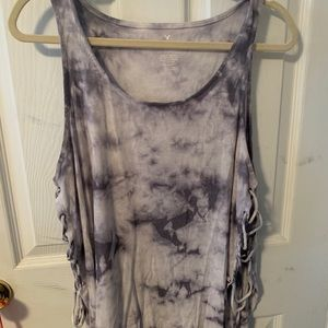 AE soft and sexy tie dye tank